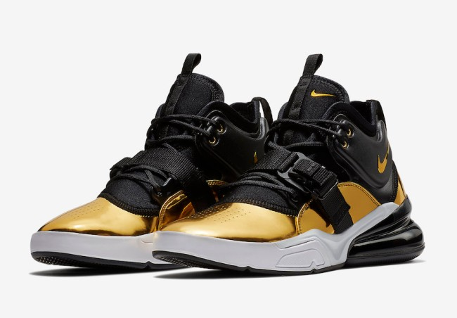 Nike Air Force 270 Gold Standard
