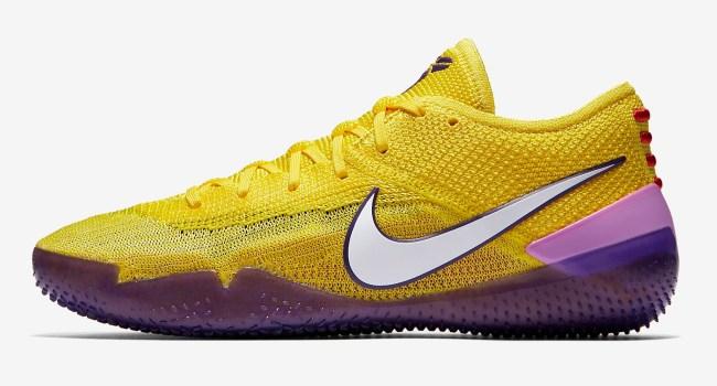 Nike Kobe AD NXT 360 Yellow Strike