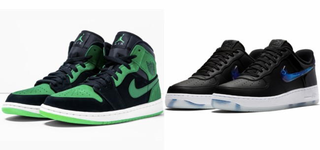 unidad explosión Matemático  Xbox Air Jordan 1 Mid And PlayStation Nike Air Force 1 Low Celebrate Your  Favorite Video Game Consoles – BroBible