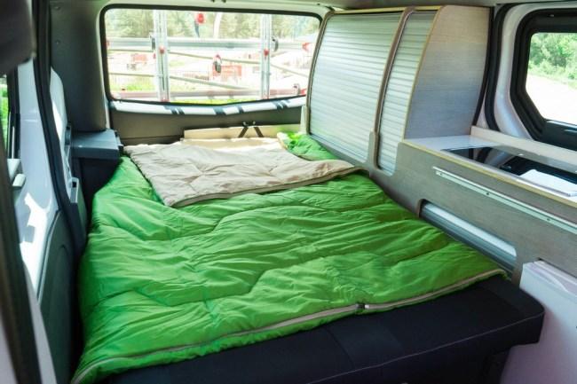 nissan e-nv200 electric camper