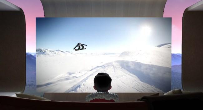 Oculus TV Virtual 180-Inch Screen