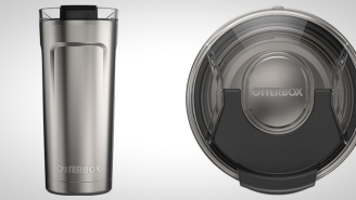 The OtterBox Elevation 20oz Tumbler Keeps Your Drinks Ice Cold All Day And It's A Steal