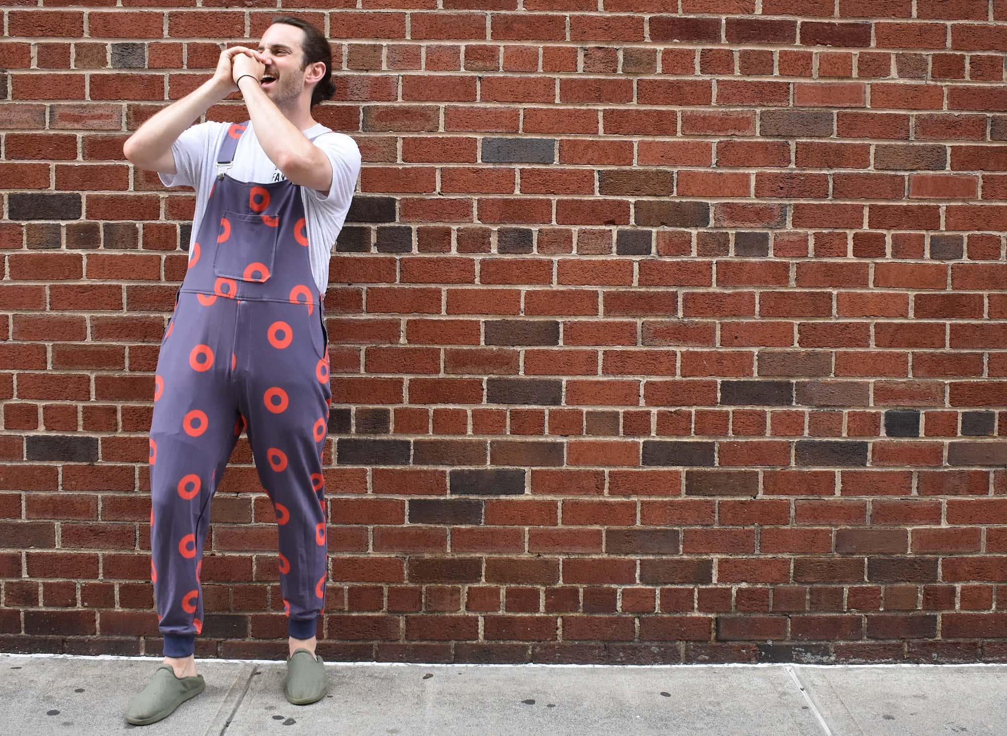 phish fishman overalls