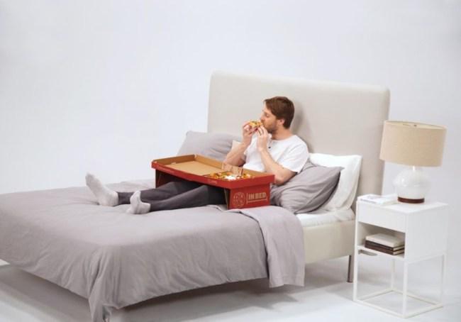 Boston Pizza Box Table Bed