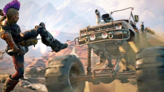 Watch 7 Minutes Of 'Rage 2' With Chaotic, Mad Max-Like Post-Apocalyptic Action