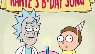 Rick And Morty Wish A Very Happy Birthday To Kanye West With Special Song