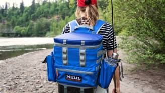 This 5-Gallon Crushproof, Watertight, Cooler Backpack Is A Must-Have Outdoor Accessory