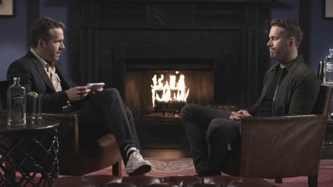 Ryan Reynolds Twin Interview Blake Lively