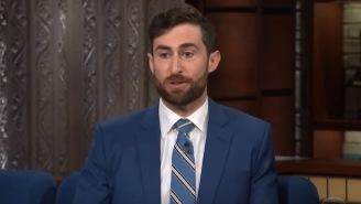 Scott Rogowsky Talks About Becoming Famous And Quizzes Colbert On 'Lord Of The Rings' Trivia