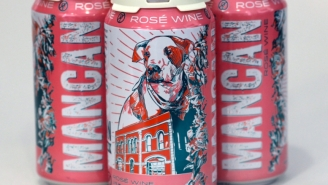 This Canned Rosé Wine From MANCAN Is The Only Thing I'm Drinking On The Beach This Summer (Pinkies Up!)