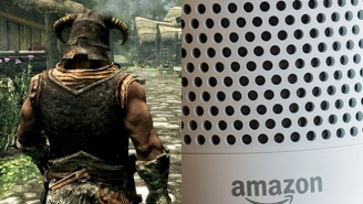 Here's How To Use Alexa To Play A Brand New Version Of 'Skyrim' Using Only Your Voice