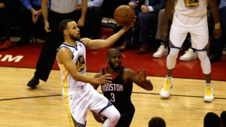 The Internet Had Some Very Comical Reactions To Steph Curry Beating Chris Paul On 'Family Feud'