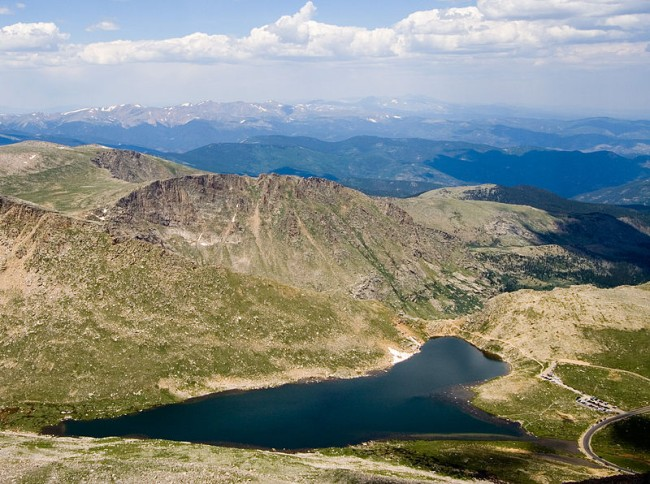 Mount Evans Summit Lake Park