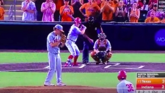 An Awful Called 3rd Strike Helped Texas Eliminate Indiana And Advance To The Super Regionals
