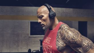 Dwayne Johnson Unveils Rugged Headphones Made To Survive The Rock's Grueling Workouts