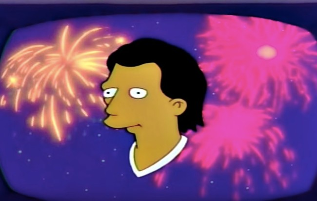 The Simpsons World Cup Final prediction
