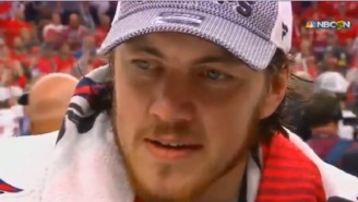 TJ Oshie Gets Emotional Talking Father Who Suffers From Alzheimer During Postgame Interview After Winning Stanley Cup