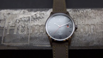 This Swedish Designed Watch Is Made Using Metal From Illegal Guns Taken Off The Streets