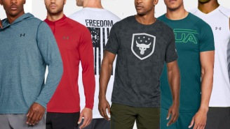 Under Armour Is Having Their Big Semi-Annual Sale With Tons Of Shoes And Apparel Up To 40% Off
