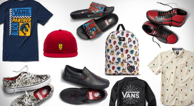 Vans Marvel Shoes Apparel Collection