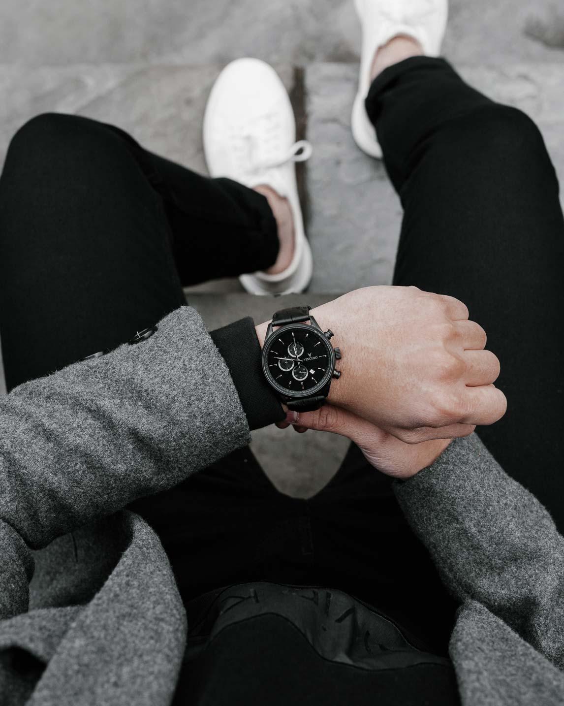 vincero-chrono-s-matte-black
