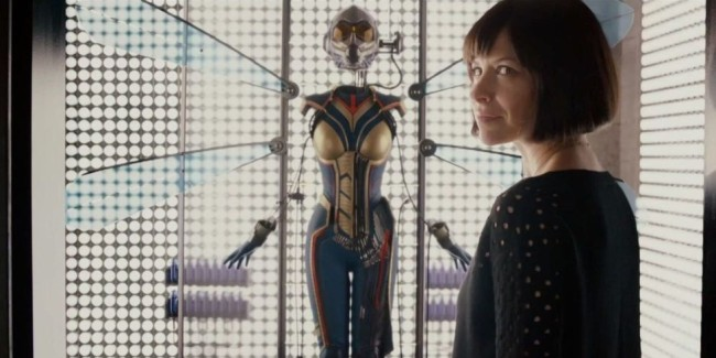 Wasp Suit Change From First Movie