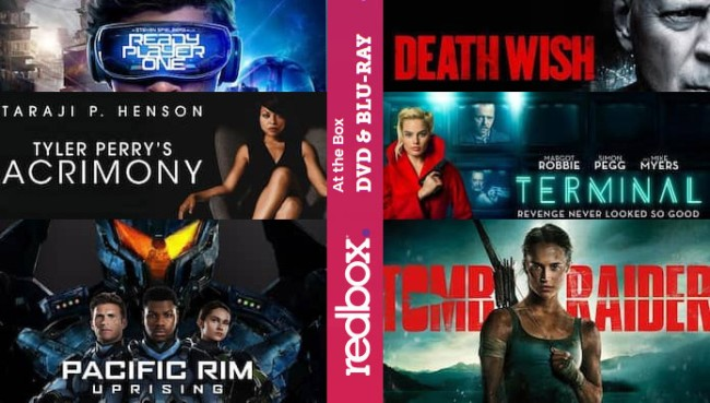Whats New Streaming Redbox June