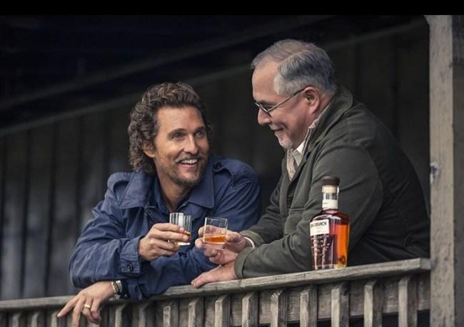 wild turkey longbranch bourbon Matthew McConaughey