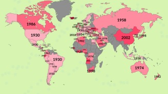 These Maps Filled With World Cup Facts, History And Trivia Will Make You An Expert In No Time