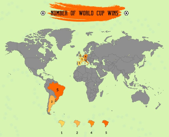 World Cup Facts HistoryTrivia Maps