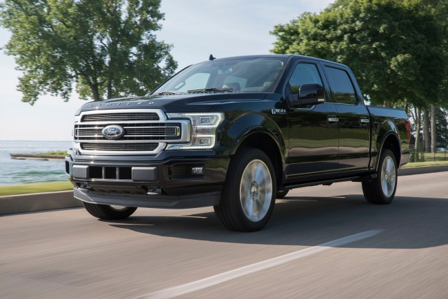 2019 Ford F-150 Limited with Raptor Engine