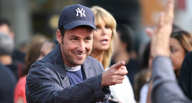 Adam Sandler Crashed Photobombed Wedding
