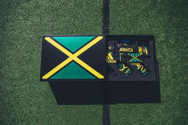 Adidas x Team Jamaica Lacrosse Kit
