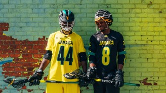 Jamaica's Got Some Sick Lax Gear From Adidas For Their International Lacrosse Debut
