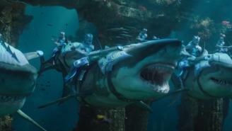 SDCC 2018: First 'Aquaman' Trailer Is Action-Packed With Weaponized Sharks (Sadly No Frickin Laser Beams)