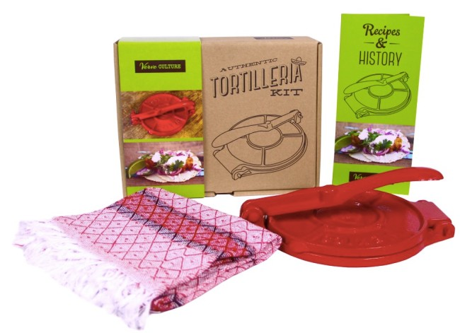authentic tortilla maker kit