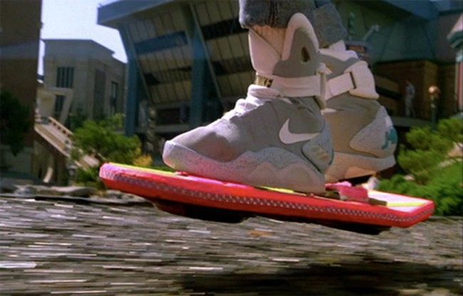 back to the future nike mag hoverboard