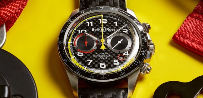 bell ross renault f1 watch chronograph
