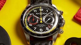 Bell & Ross Watches Is Back With A Wicked Cool F1-Inspired Limited Edition Chronograph