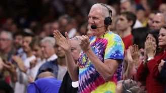 Of Course Bill Walton Was At A Grateful Dead Show When He Called Luke About The LeBron Signing