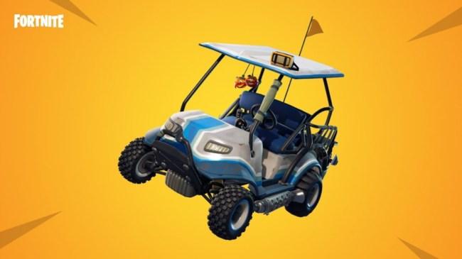 Botched Fortnite Rescue Effort Golf Cart