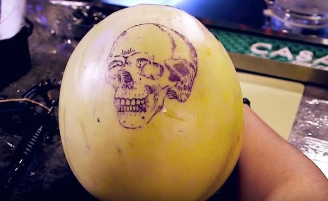 Brooklyn Bar tattooing melons