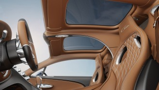 Bugatti Unveiled A New 'Sky View' Glass Roof Option For Their Already Almost Perfect Chiron