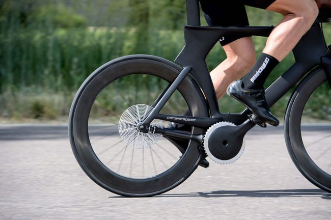 ceramicspeed driven chainless bicycle drivetrain