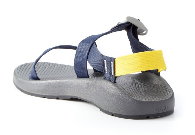 Chaco Z1 Classic Sandals Huckberry Navy Yellow Colorway
