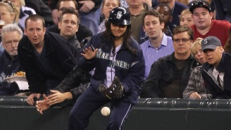 This Compilation Of MLB Ballgirls Flashing Some Leather, Saving Fans' Skulls Is Spectacular
