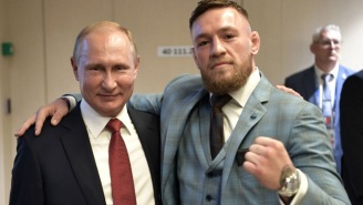 Conor McGregor Hung Out With And Praised Vladimir Putin At The World Cup, Made People Very Angry