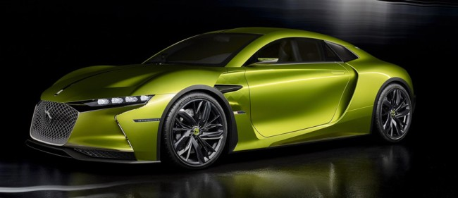 DS Automobiles E-Tense Concept Car