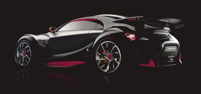 DS Automobiles Survolt Concept Car