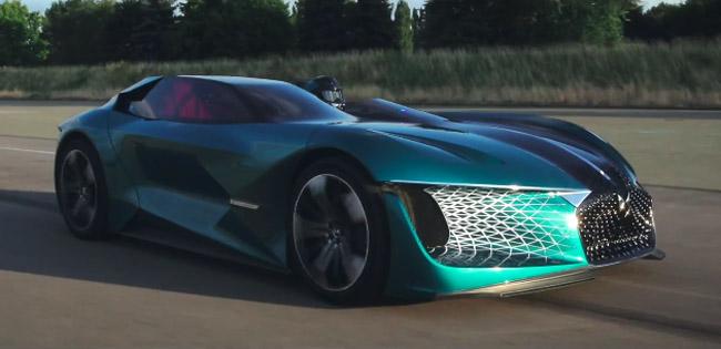 DS X E-Tense Hypercar Concept